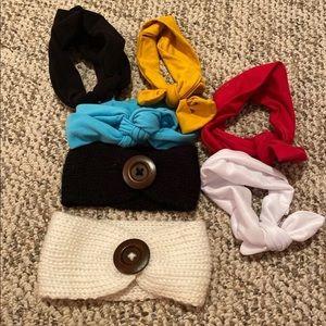 Other - Headband hair bow bundle
